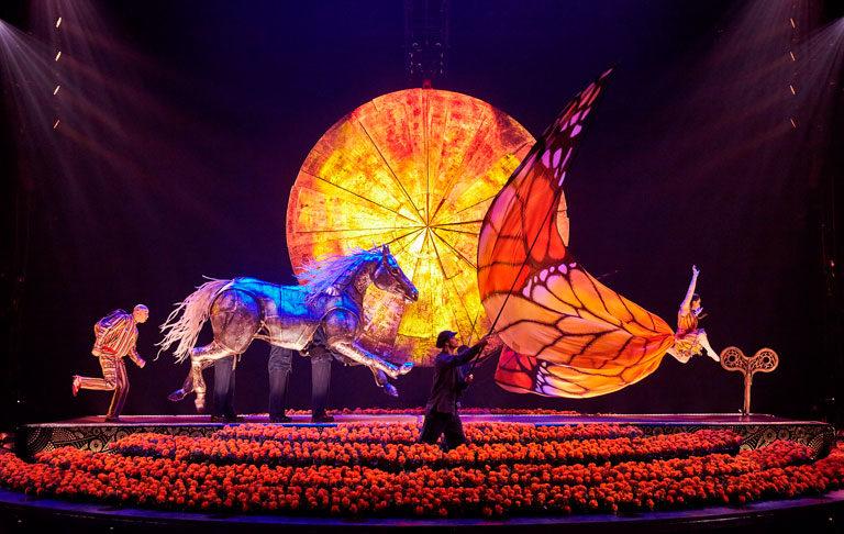 Cirque Du Soleil homenajea a México